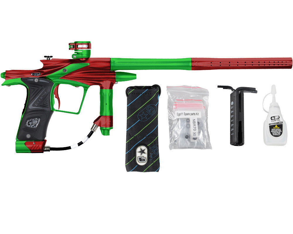 Planet Eclipse 2011 Ego Paintball Gun - Red/Lime