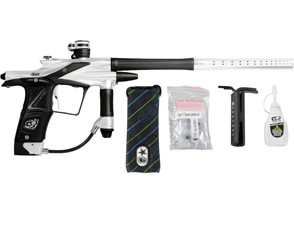 Planet Eclipse 2011 Ego Paintball Gun - Silver/Black
