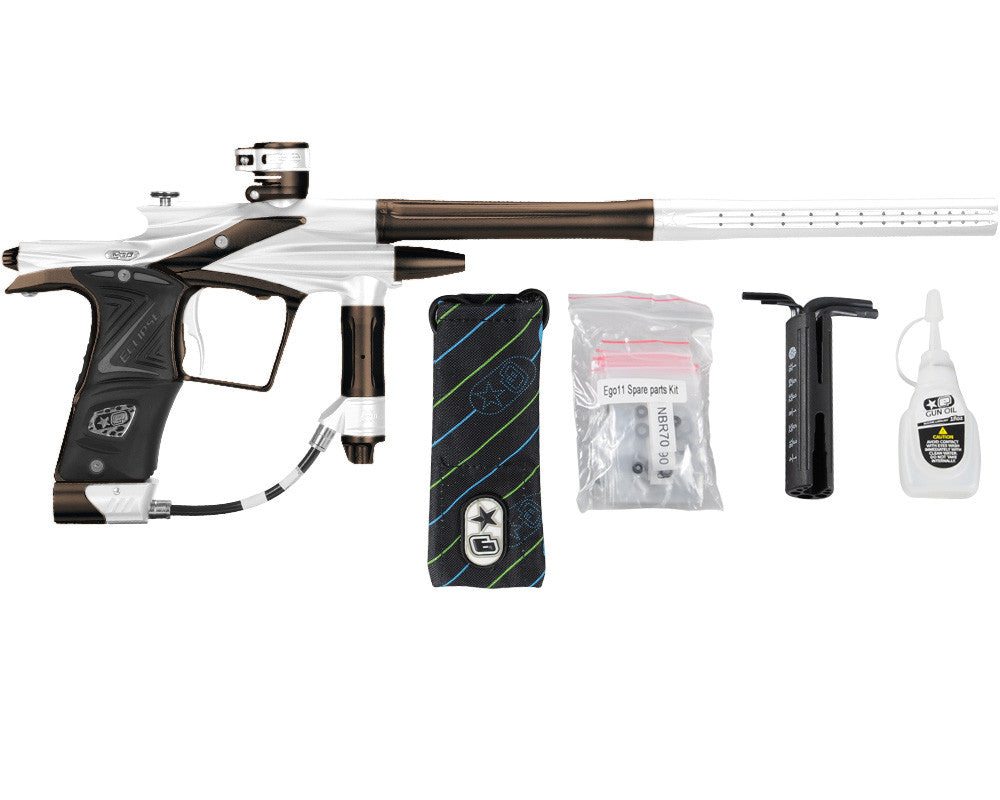 Planet Eclipse 2011 Ego Paintball Gun - Silver/Brown