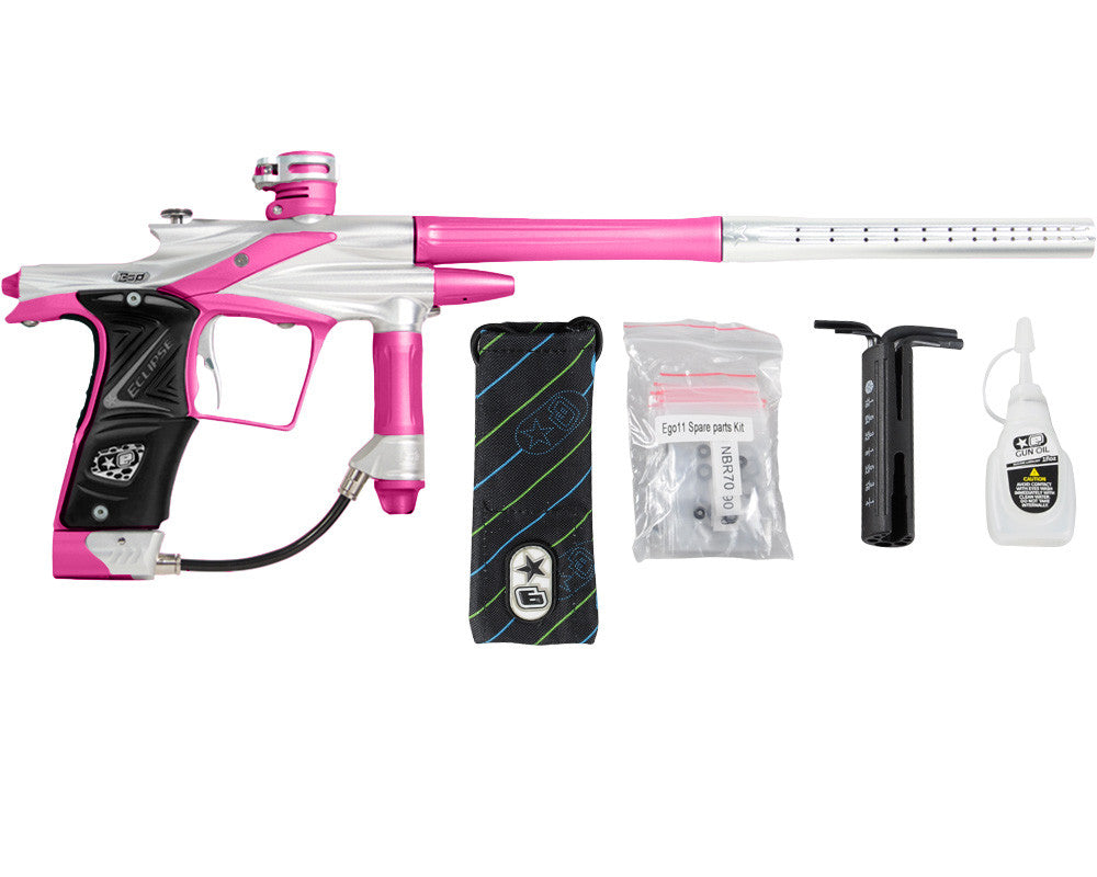 Planet Eclipse 2011 Ego Paintball Gun - Silver/Dust Pink