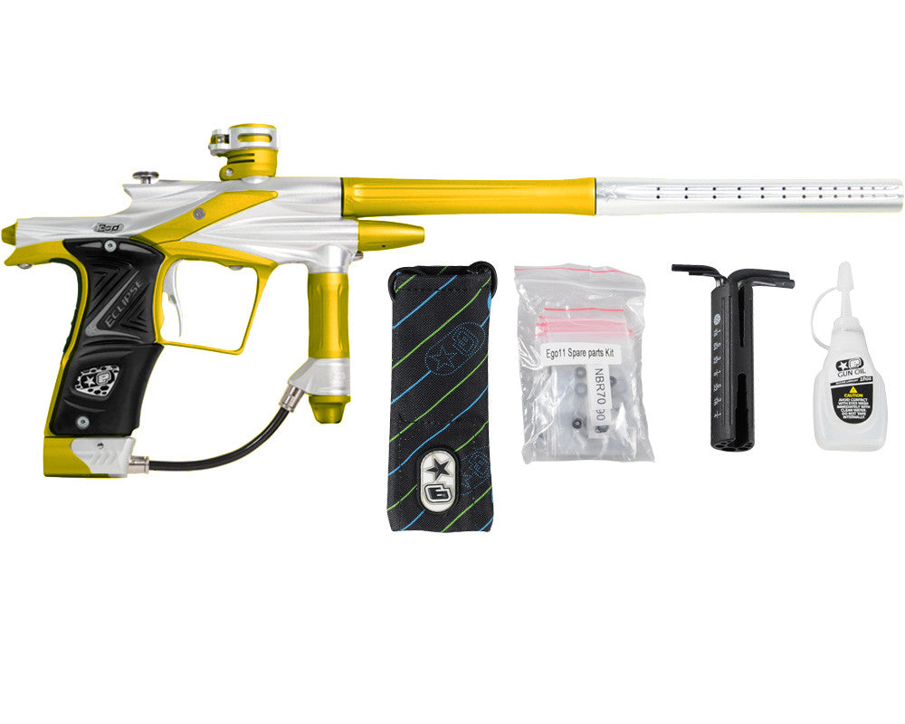 Planet Eclipse 2011 Ego Paintball Gun - Silver/Dust Yellow