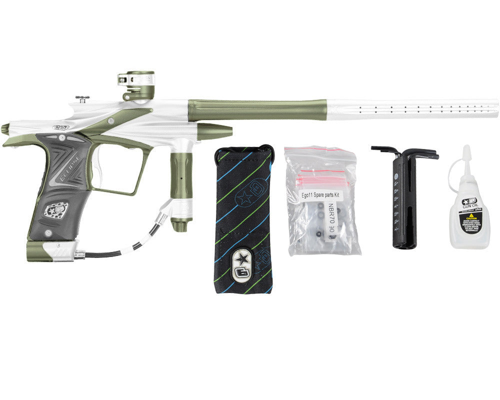 Planet Eclipse 2011 Ego Paintball Gun - Silver/Olive