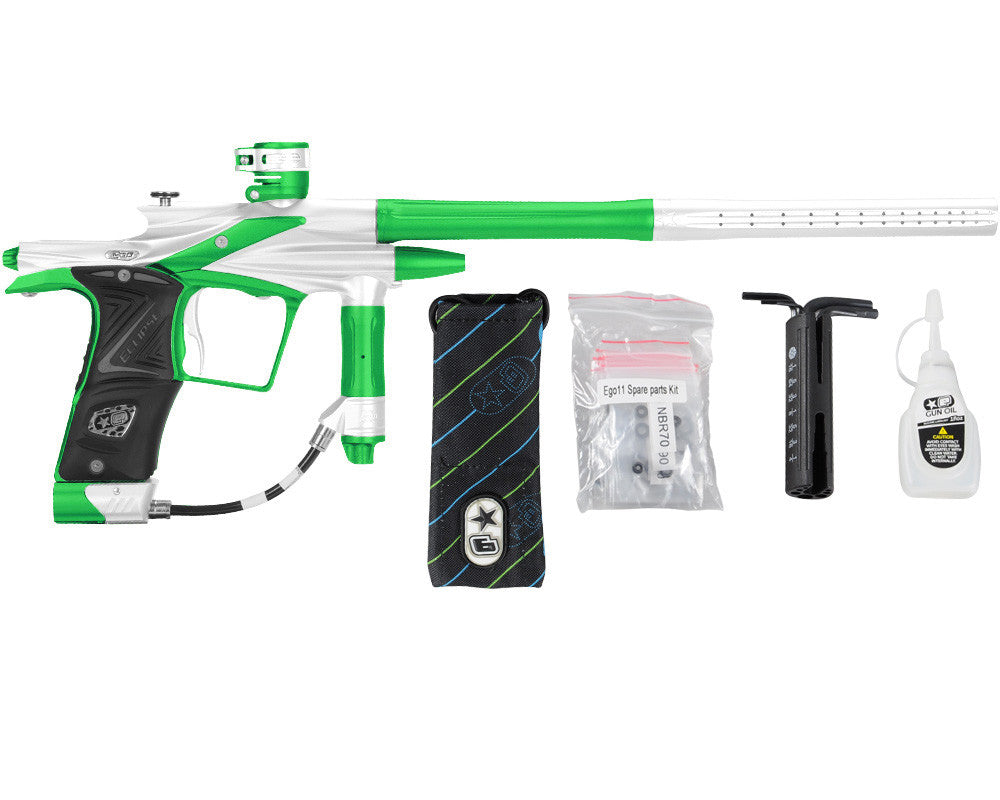 Planet Eclipse 2011 Ego Paintball Gun - Silver/Lime