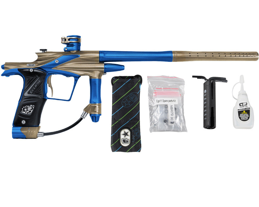 Planet Eclipse 2011 Ego Paintball Gun - Tan/Cobalt