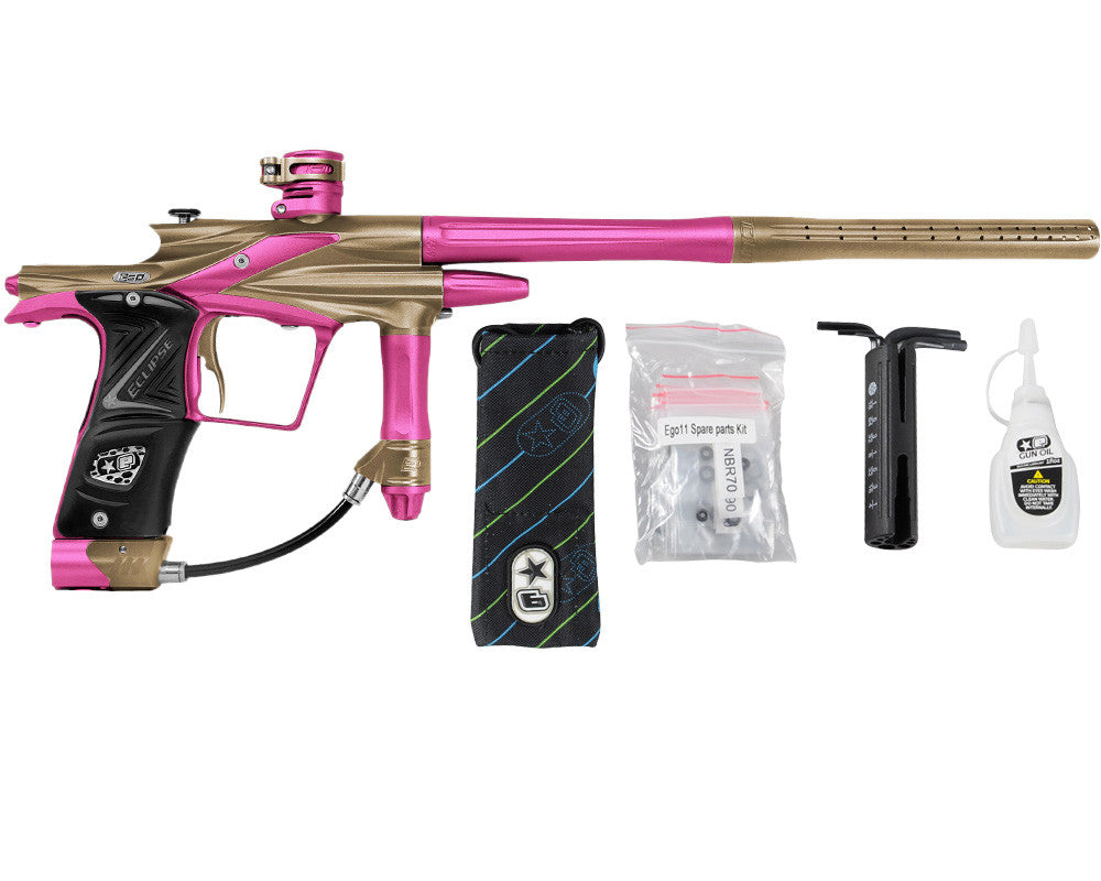 Planet Eclipse 2011 Ego Paintball Gun - Tan/Dust Pink