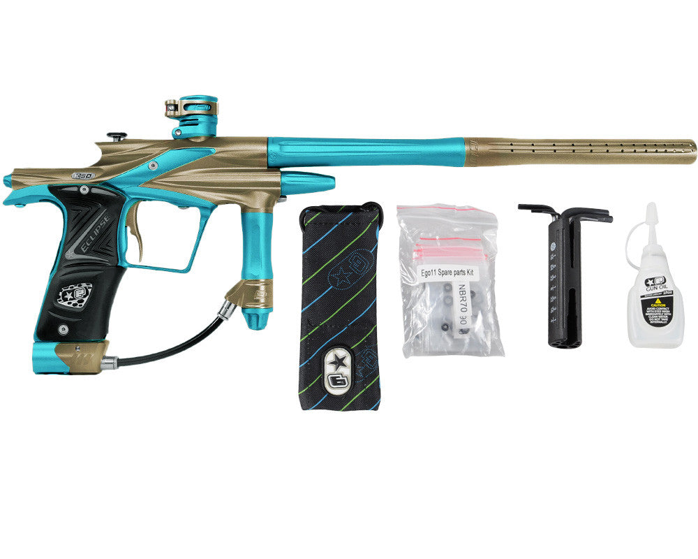 Planet Eclipse 2011 Ego Paintball Gun - Tan/Dust Teal