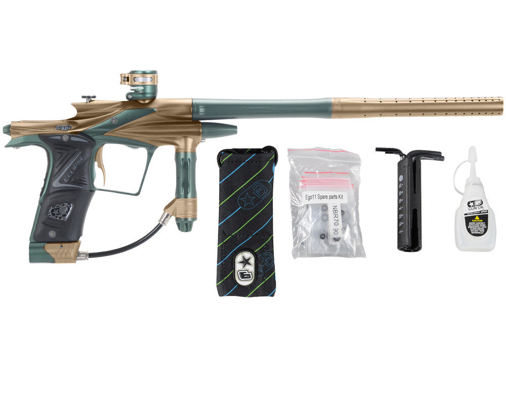 Planet Eclipse 2011 Ego Paintball Gun - Tan/Forest Green