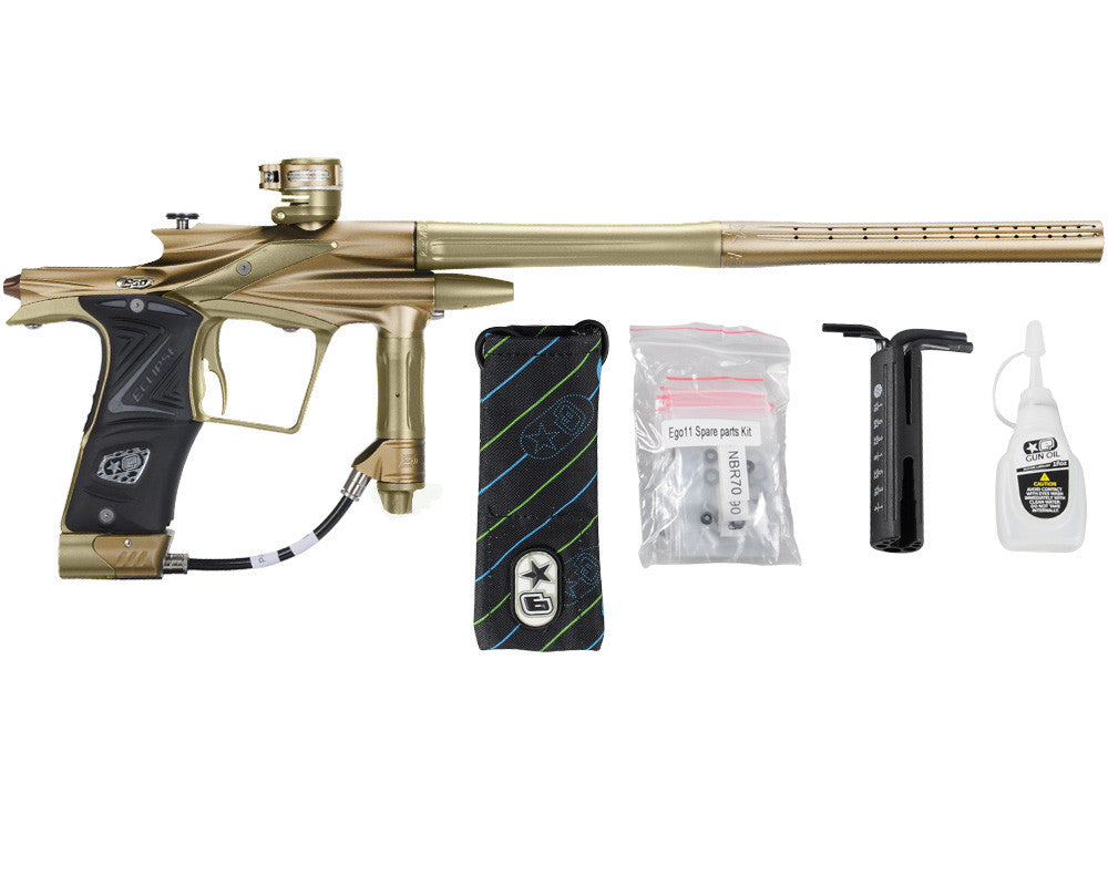Planet Eclipse 2011 Ego Paintball Gun - Tan/Olive