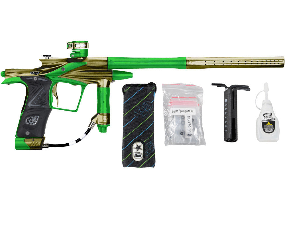 Planet Eclipse 2011 Ego Paintball Gun - Tan/Lime