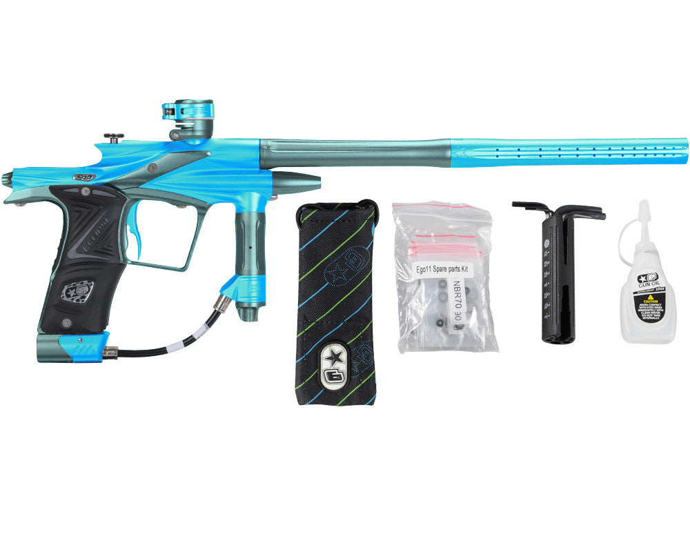 Planet Eclipse 2011 Ego Paintball Gun - Teal/Aqua