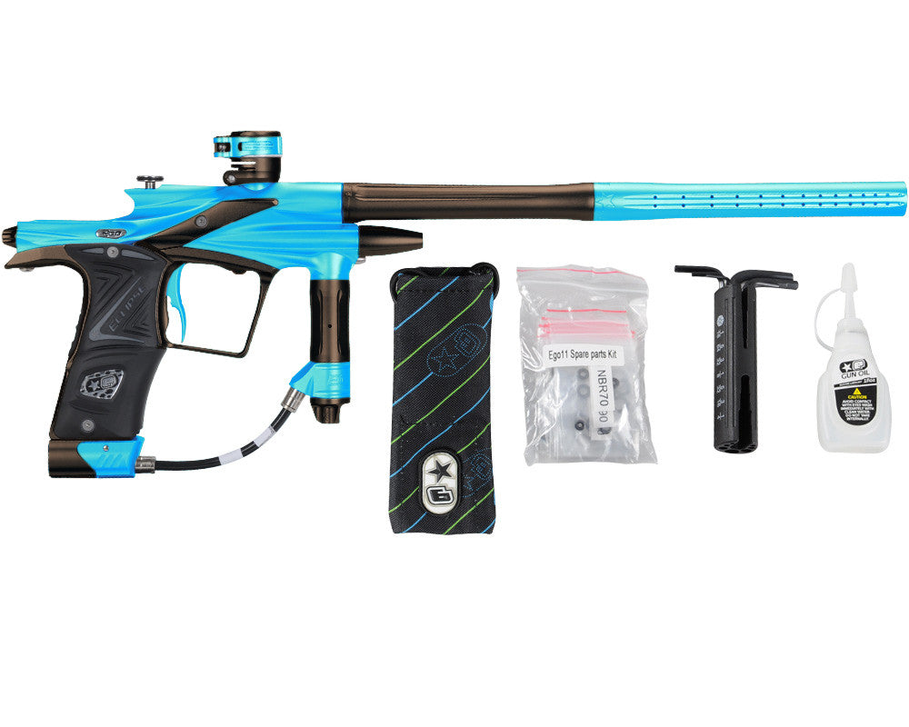 Planet Eclipse 2011 Ego Paintball Gun - Teal/Brown