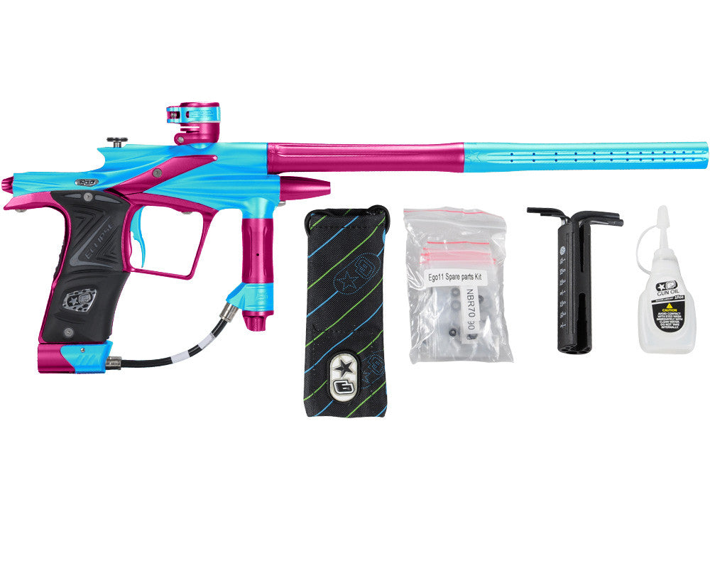 Planet Eclipse 2011 Ego Paintball Gun - Teal/Dust Pink