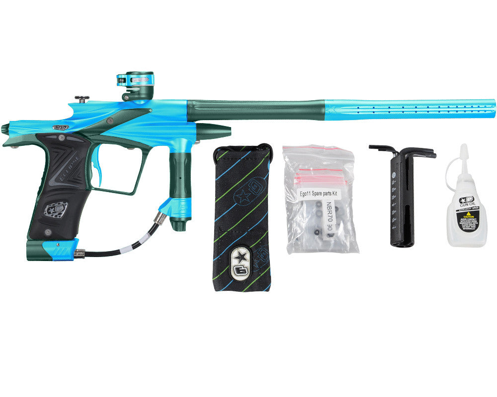 Planet Eclipse 2011 Ego Paintball Gun - Teal/Forest Green