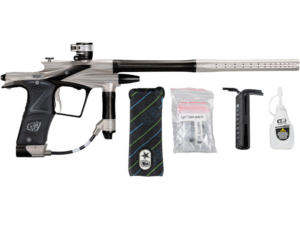 Planet Eclipse 2011 Ego Paintball Gun - Titanium/Black
