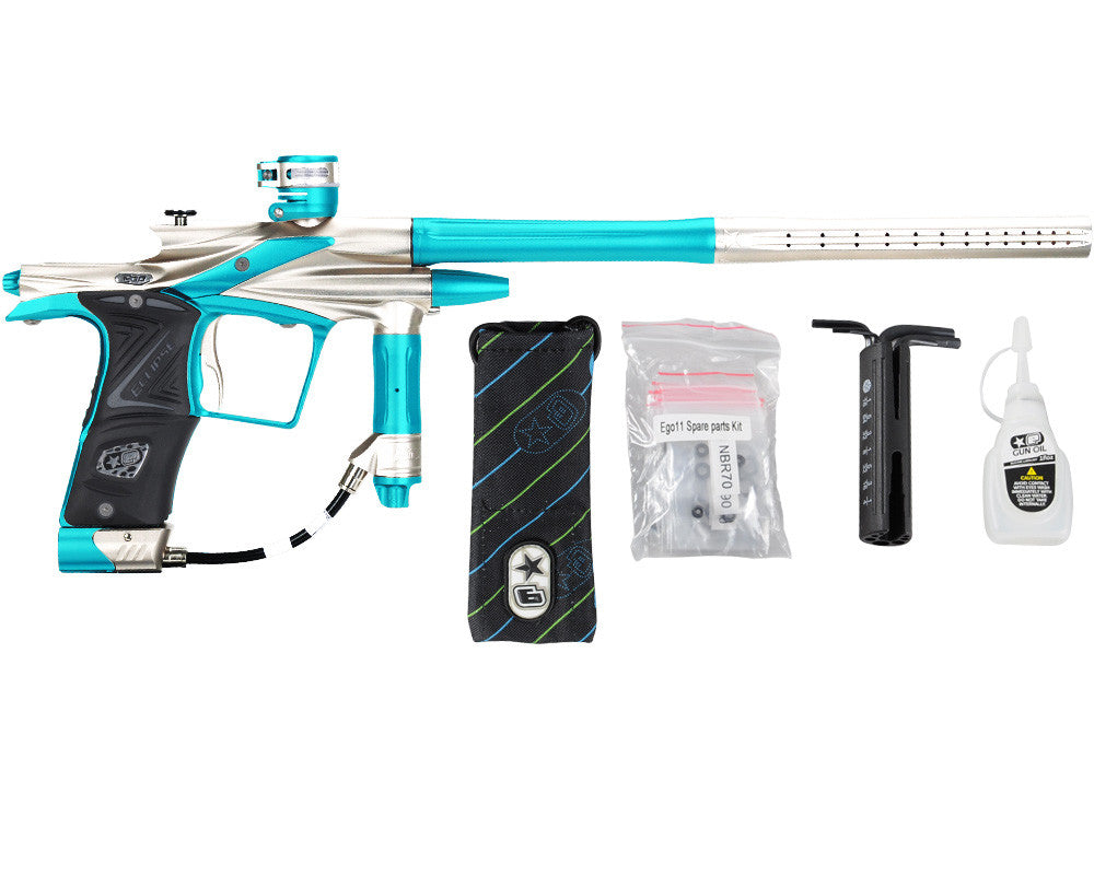 Planet Eclipse 2011 Ego Paintball Gun - Titanium/Dust Teal