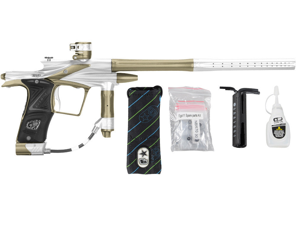 Planet Eclipse 2011 Ego Paintball Gun - Titanium/Olive