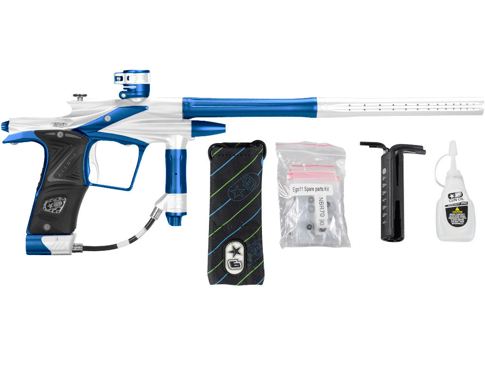 Planet Eclipse 2011 Ego Paintball Gun - White/Cobalt