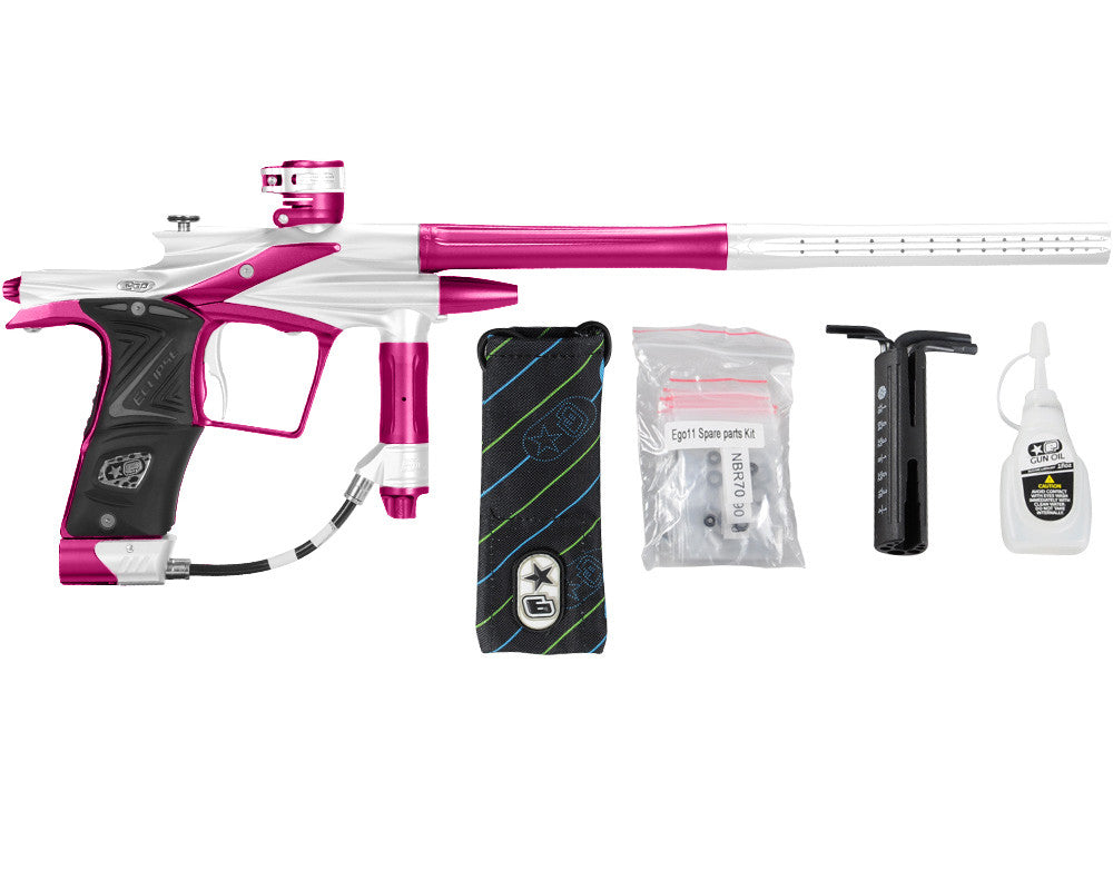 Planet Eclipse 2011 Ego Paintball Gun - White/Dust Pink