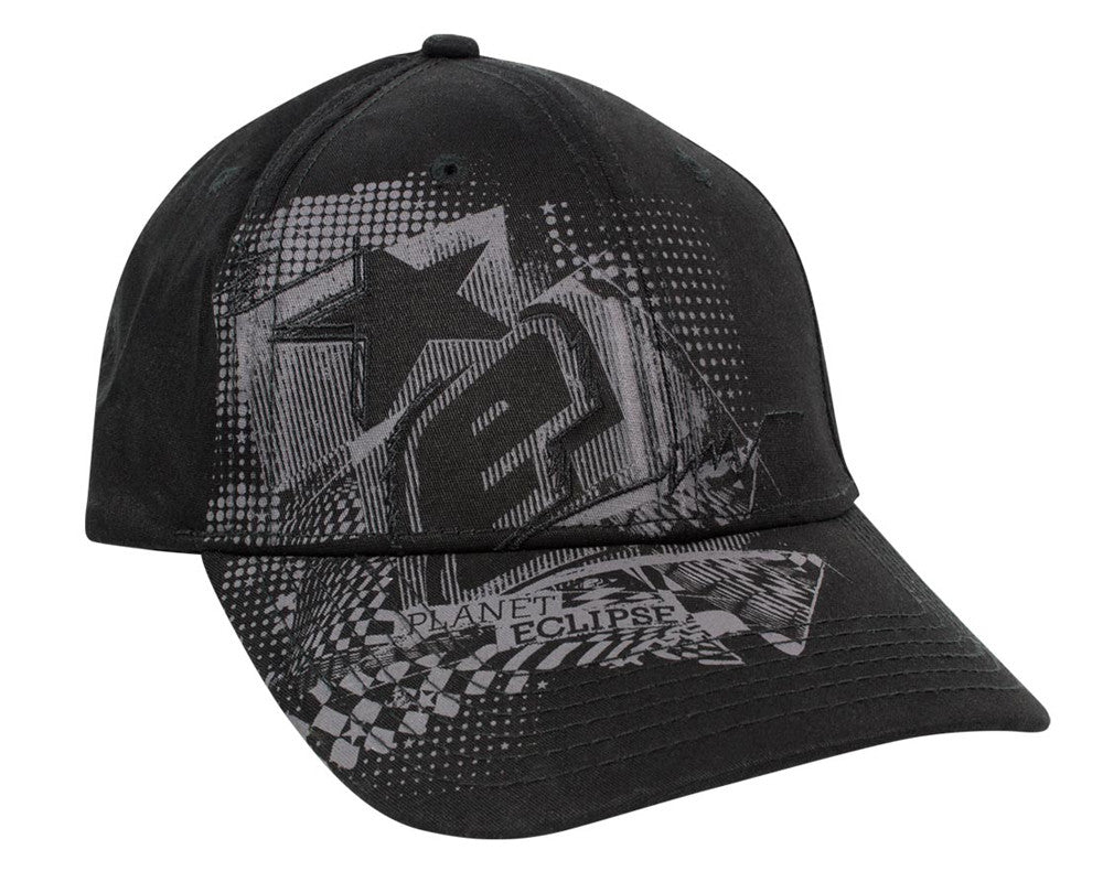 Planet Eclipse 2014 Crazed Cap - Black