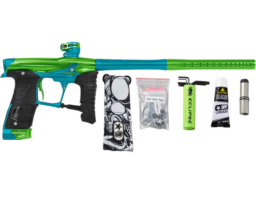 Planet Eclipse Geo 3.5 Paintball Gun - Lime/Teal