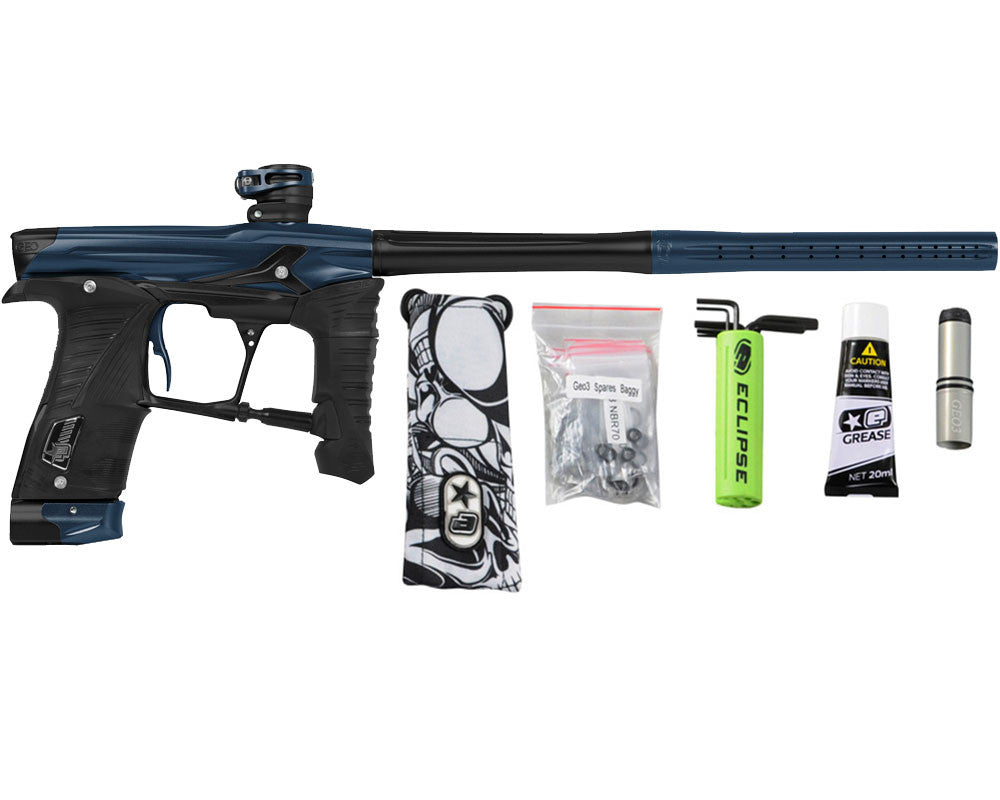 Planet Eclipse Geo 3.5 Paintball Gun - Navy Blue/Black