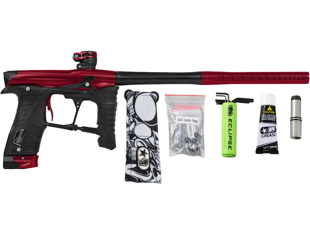 Planet Eclipse Geo 3.5 Paintball Gun - Red/Black