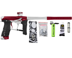 Planet Eclipse Geo 3.5 Paintball Gun - Red/Silver