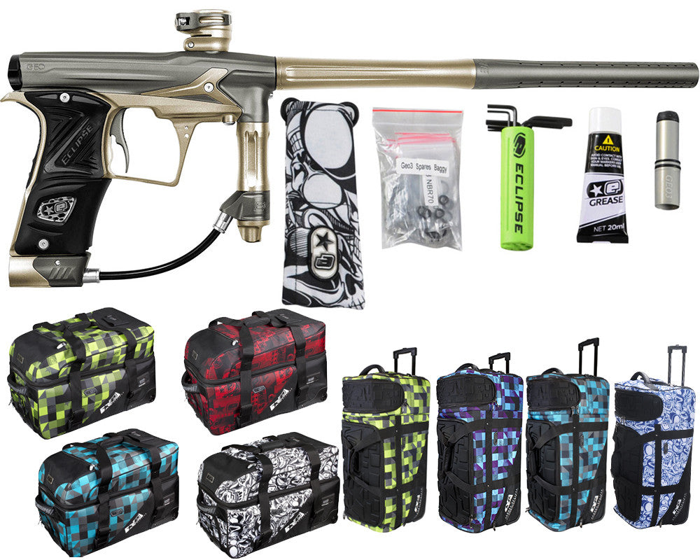 Planet Eclipse Geo 3 Paintball Gun w/ Gear Bag - Spekta 2