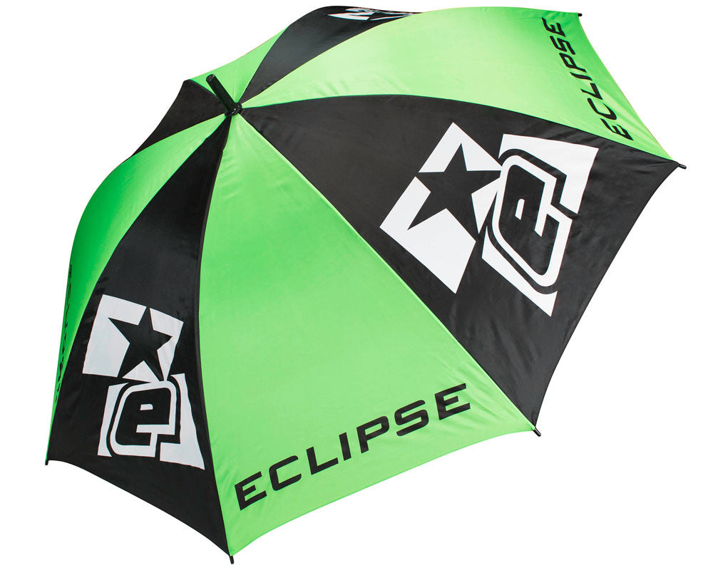 Planet Eclipse Golf Umbrella - Black/Green