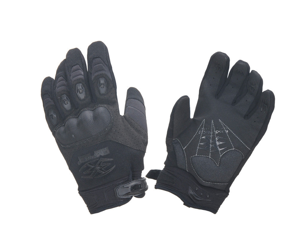 2013 Empire Battle Tested Operator THT Paintball Gloves - Black