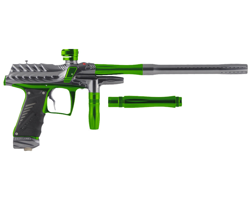 Bob Long Dragon G6R Intimidator - Polished Titanium/Polished Lime
