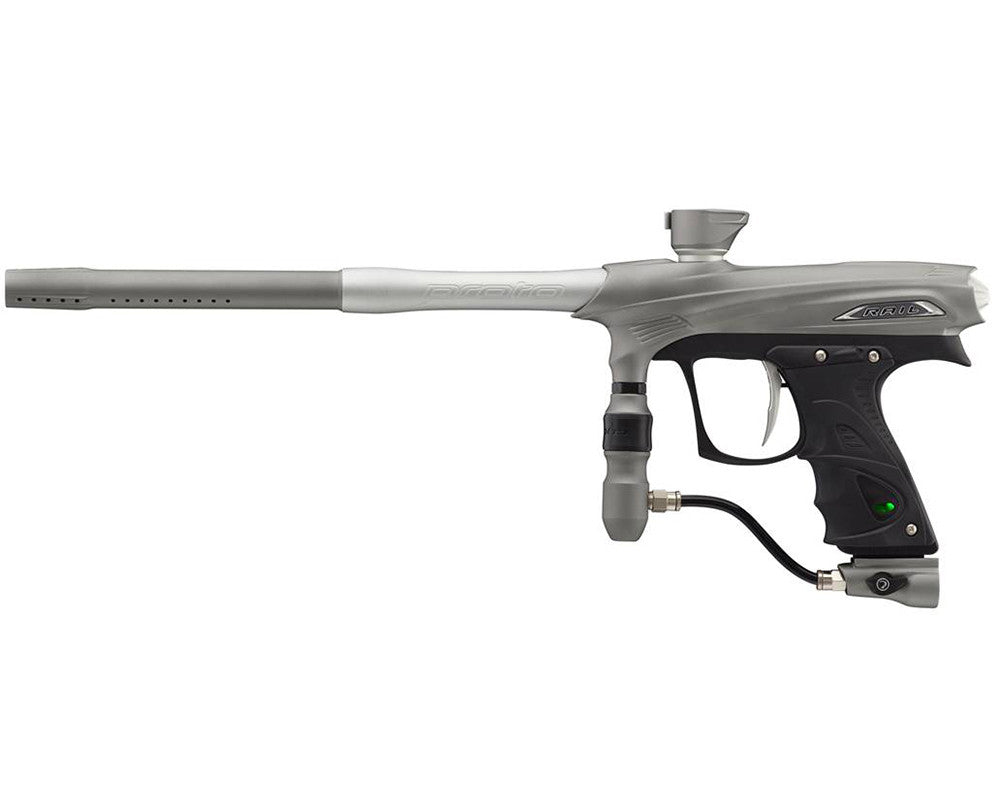 Proto Rail MaXXed PMR Paintball Gun - Graphite/Clear