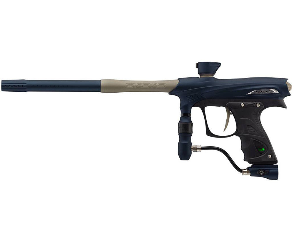 Proto Rail MaXXed PMR Paintball Gun - Navy/Tan