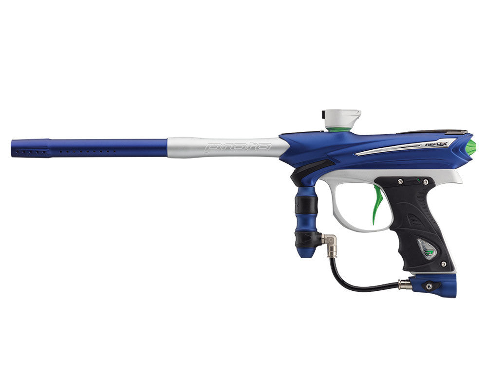 Proto Reflex Rail Paintball Gun - Blue/White/Lime