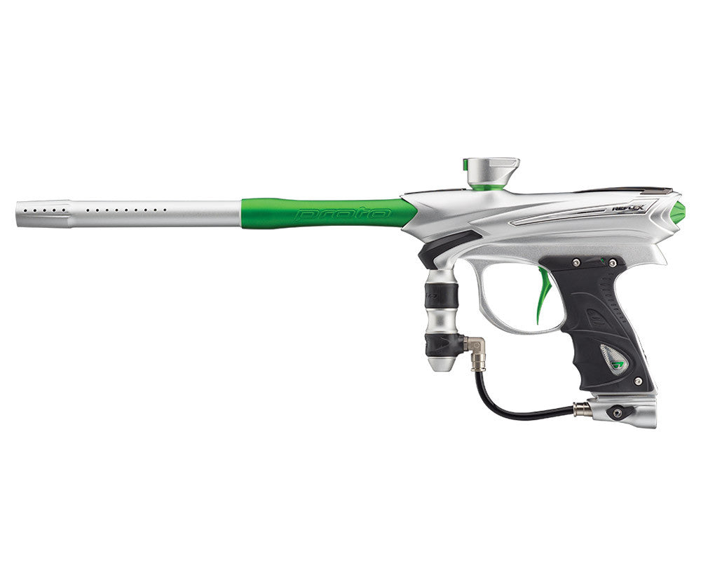 Proto Reflex Rail Paintball Gun - Clear/Lime