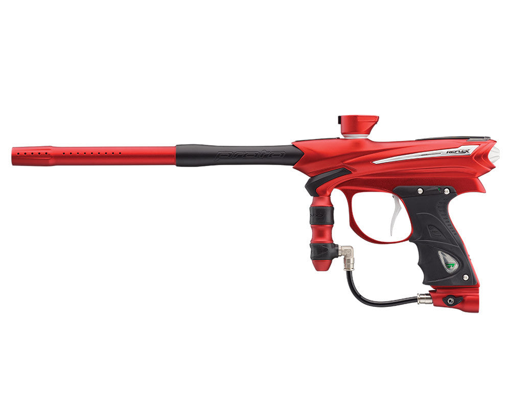 Proto Reflex Rail Paintball Gun - Red/Black/White
