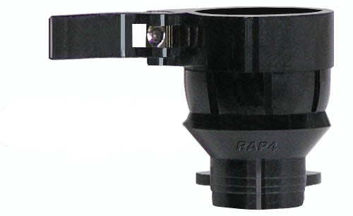 RAP4 Spyder Clamping Feed Neck - Tabs - Black