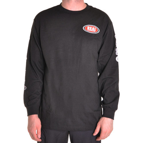 Real Roll Forever L/S - Black - Men's T-Shirt