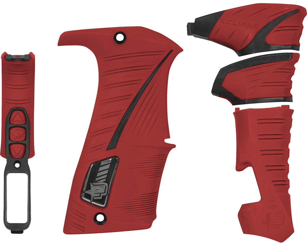 Planet Eclipse LV1/Geo 3.1/Geo 3.5/GSL Grip Kit - Red