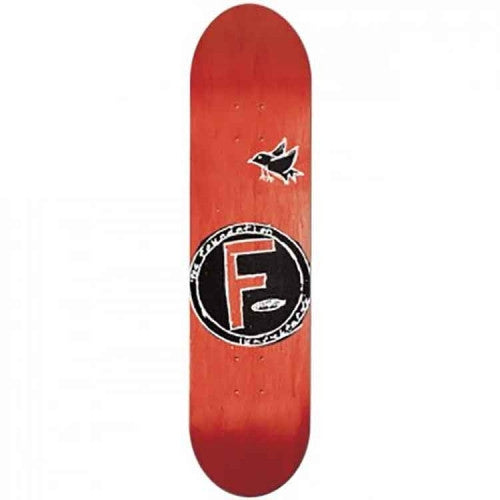 Foundation Bird PP - Red - 8.0in - Skateboard Deck