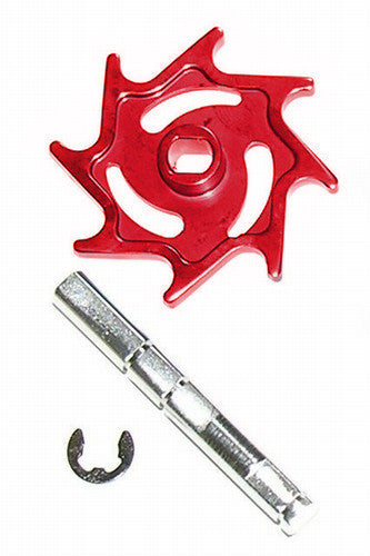 Warrior Halo Aluminum Rip Drive Kit - Red