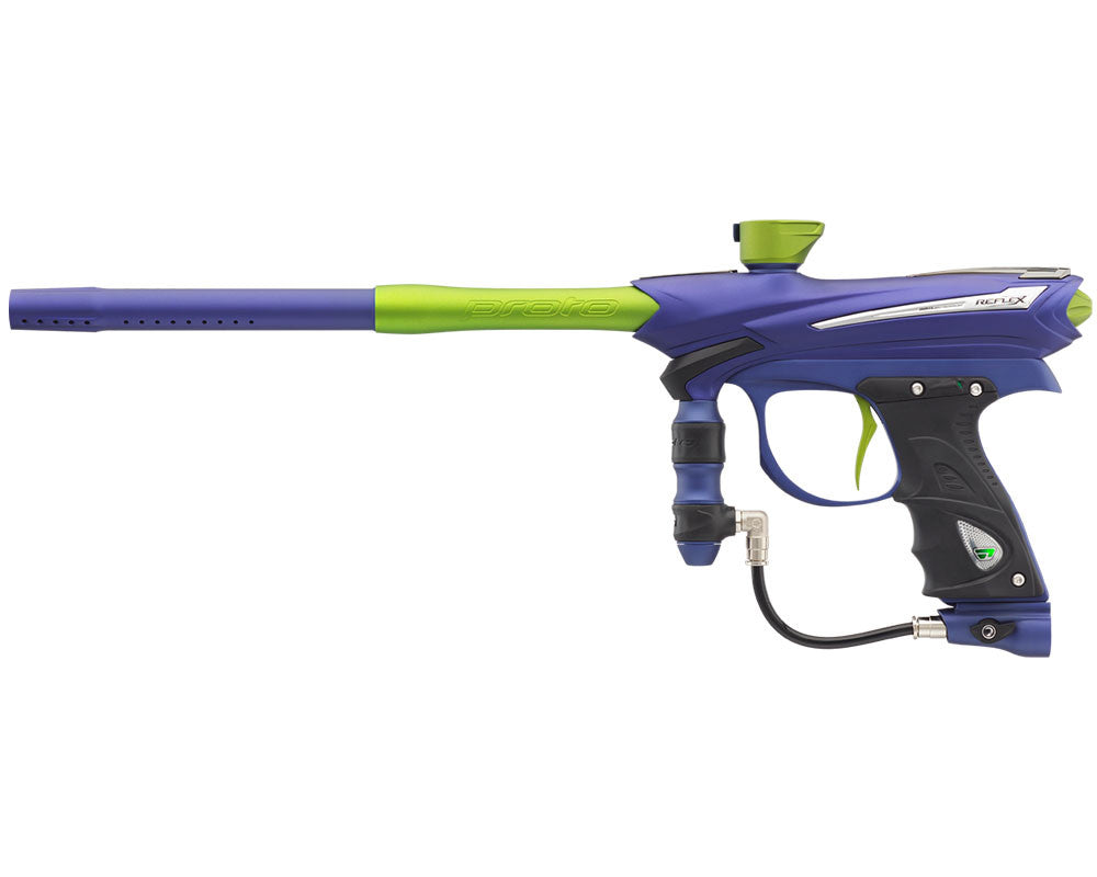 Proto Reflex Rail Paintball Gun - Navy Green
