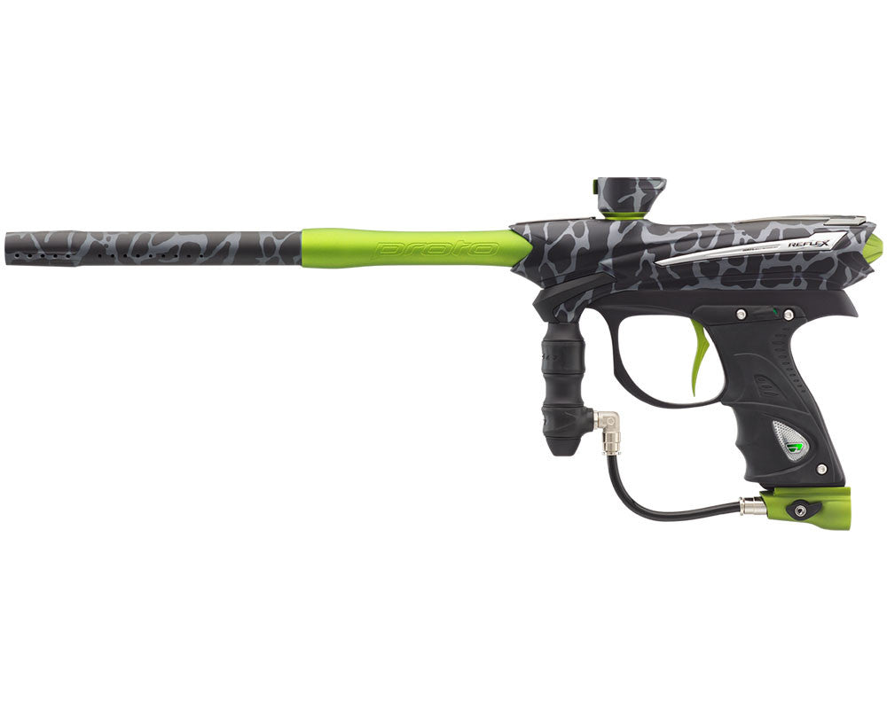 Proto Reflex Rail Paintball Gun - PGA Skinned Green