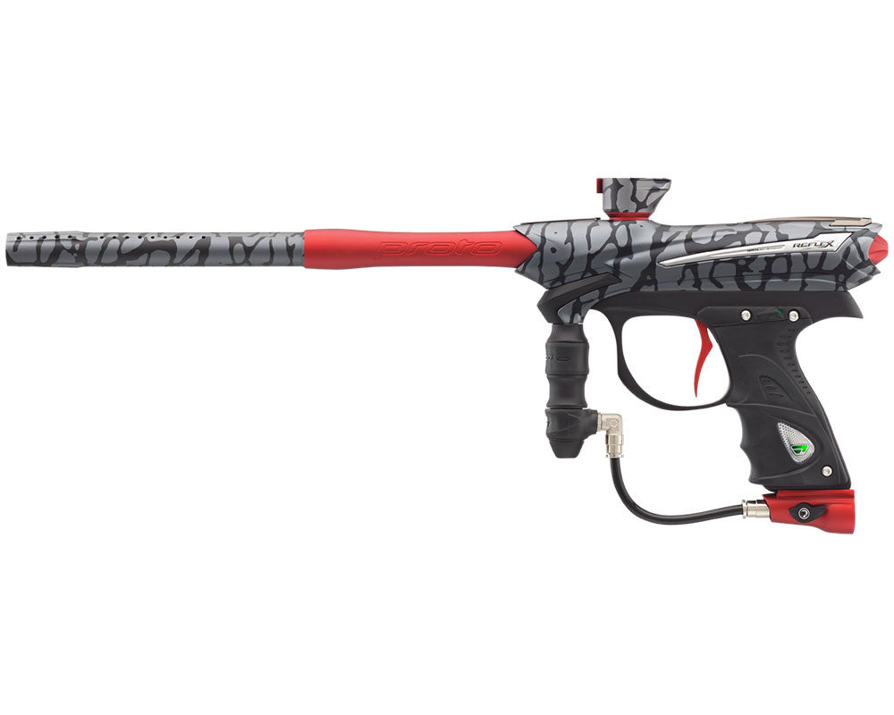Proto Reflex Rail Paintball Gun - PGA Skinned Red