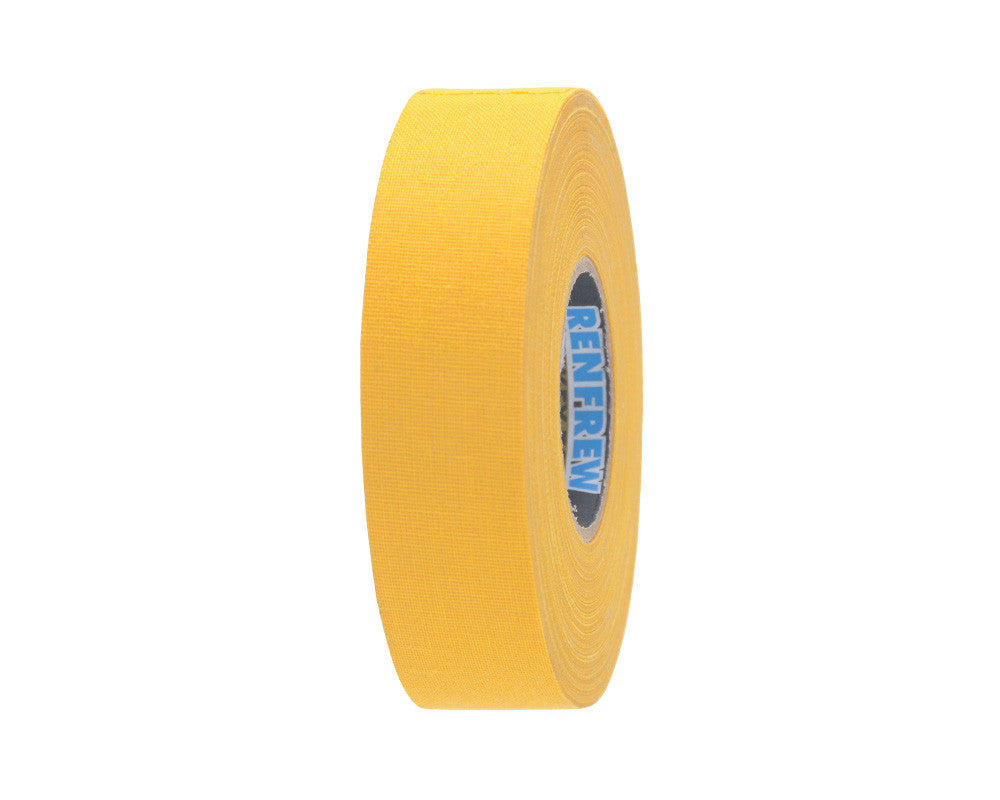 Renfrew Colored Hockey Tape - Yellow