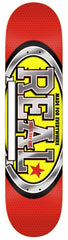 Real Custom Team Large - Red/Yellow - 8.38 - Skateboard Deck