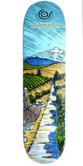 Organika Ryan Landscapes - Blue - 8.06 - Skateboard Deck