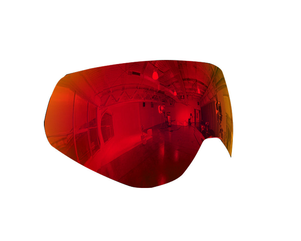 HK Army KLR Thermal Mask Lens - Scorch Red