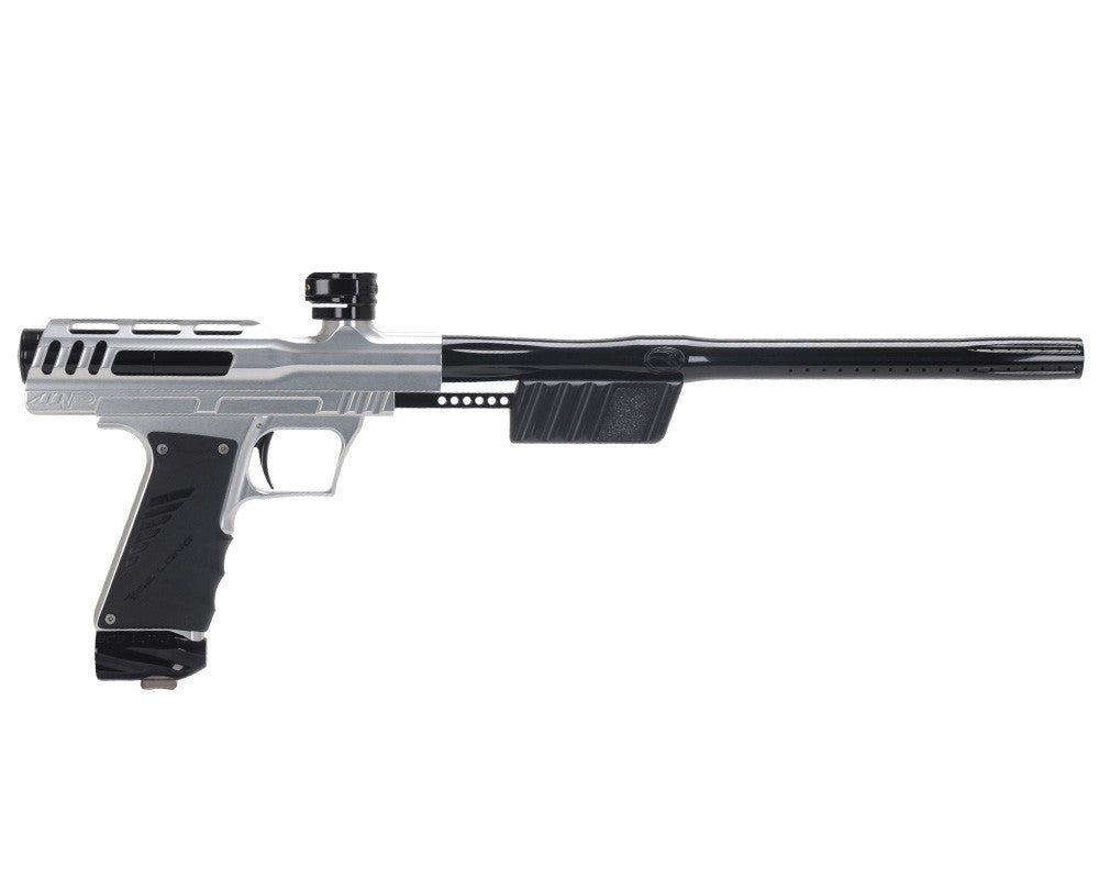 "Bob Long ""MVP"" Marq Victory Pump Paintball Gun - Silver w/ Black"
