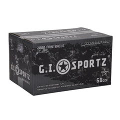 GI Sportz 1 Star Paintball Case 100 Rounds - Orange Fill